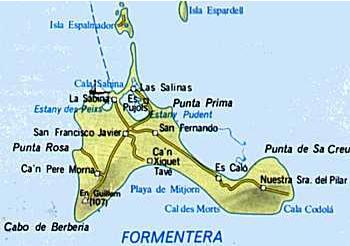 Cartina Geografica Spagna E Formentera.Mappe Di Ibiza E Formentera Visualizza Le Mappe Dettagliate